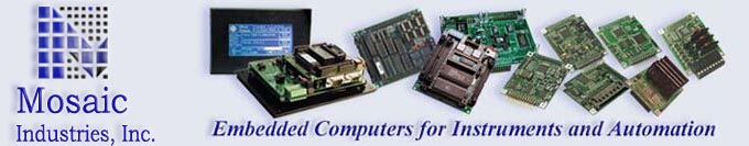 low cost single board computers, embedded controllers, and operator interfaces for scientific instruments & industrial control