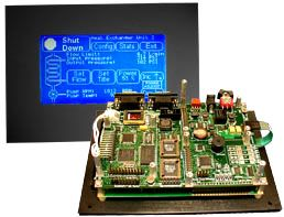 QScreen instrument controller with HMI