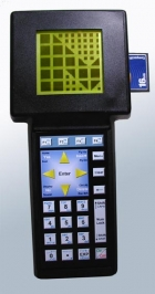 The Mosaic Handheld computer with graphic display, keypad and configurable modular I/O