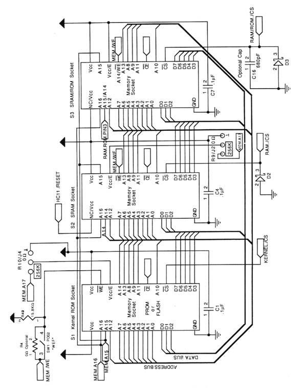 appendix d  qvga schematics