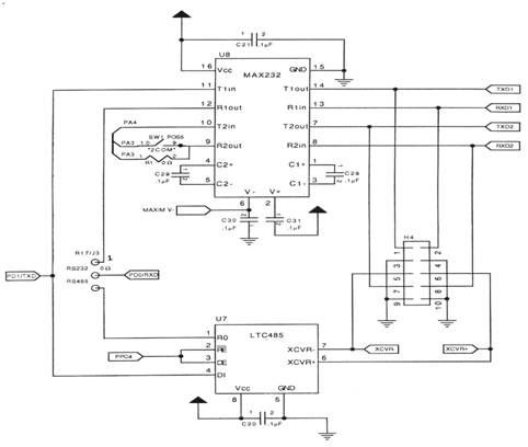 microprocessor serial interface
