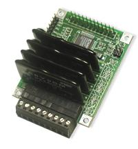 I/O interface board contains optically isolated AC Solid State Relays using Crydom AC solid state relay modules