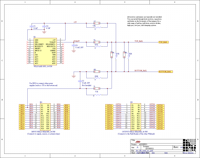 signal conditioning circuit diagram