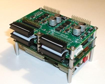 PWM Driver Wildcard mounted on a PDQ Board and Docking Panel