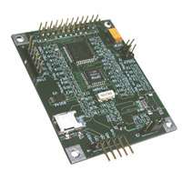 USB interface board, microcontroller USB port to serial