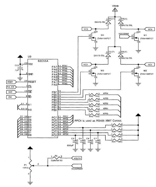 Microcontroller And Single Board Computer Schematics 68hc11 Mc68hc11f1